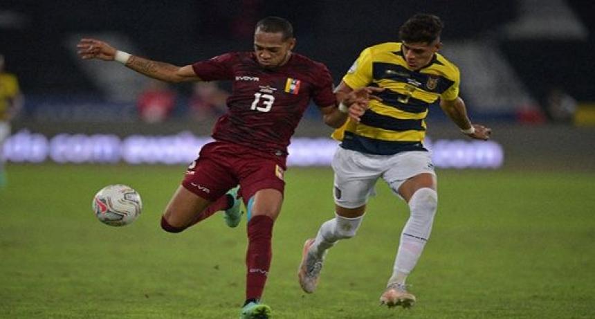 Venezuela y Ecuador empatan 2-2 en fecha de Copa América
