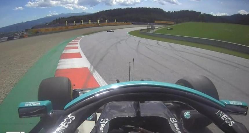 Max Verstappen largó primero en el Gran Premio de Estiria