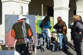Exponen obras de artistas salteños