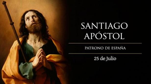 Hoy es fiesta de Santiago Apóstol, patrono de España