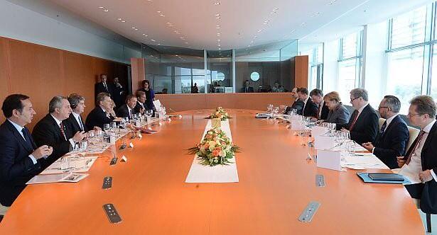 Macri y Merkel confían en que avance acuerdo entre Mercosur y la UE