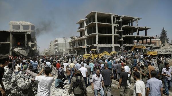 Atentado con camión bomba de ISIS en una ciudad kurda de Siria