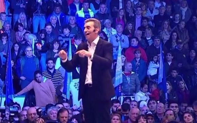 Randazzo: Ser peronista es no robar, no mentir y no votar jamás una medida en contra de los intereses del pueblo