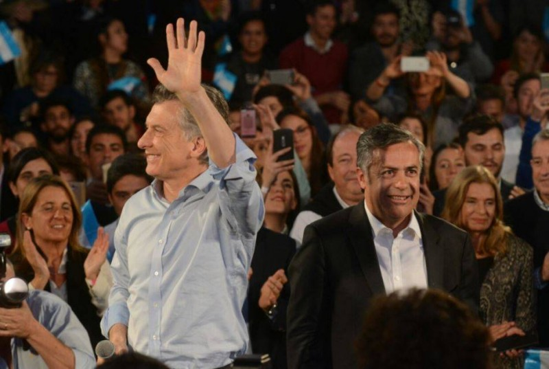 Macri aseguró un crecimiento del 3% al lanzar a los candidatos mendocinos de Cambiemos