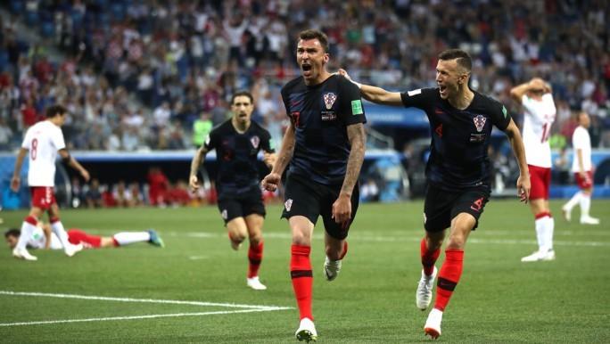 Dinamarca vencido por Croacia con penales