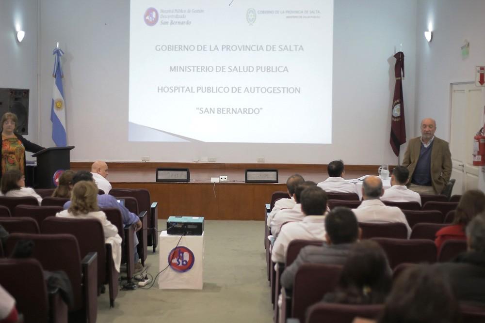 El hospital San Bernardo hizo su primera evaluación de gestión cuatrimestral del año