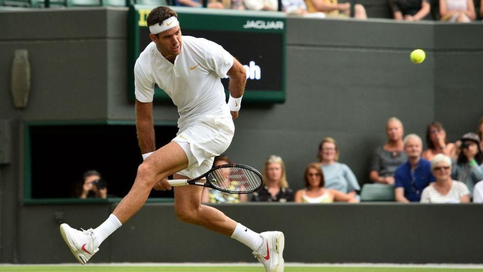 Del Potro le gano a Feliciano López y avanza en Wimbledon