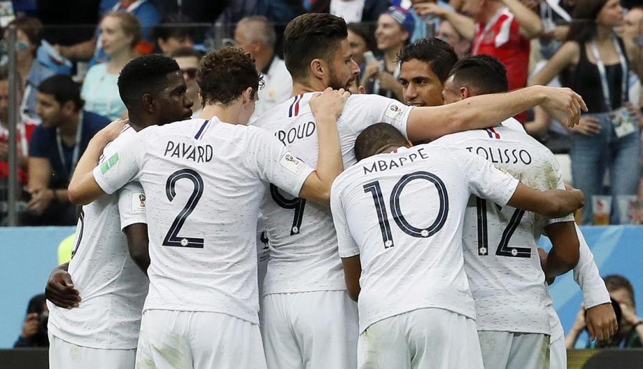Francia clasificó a la semi final del mundo