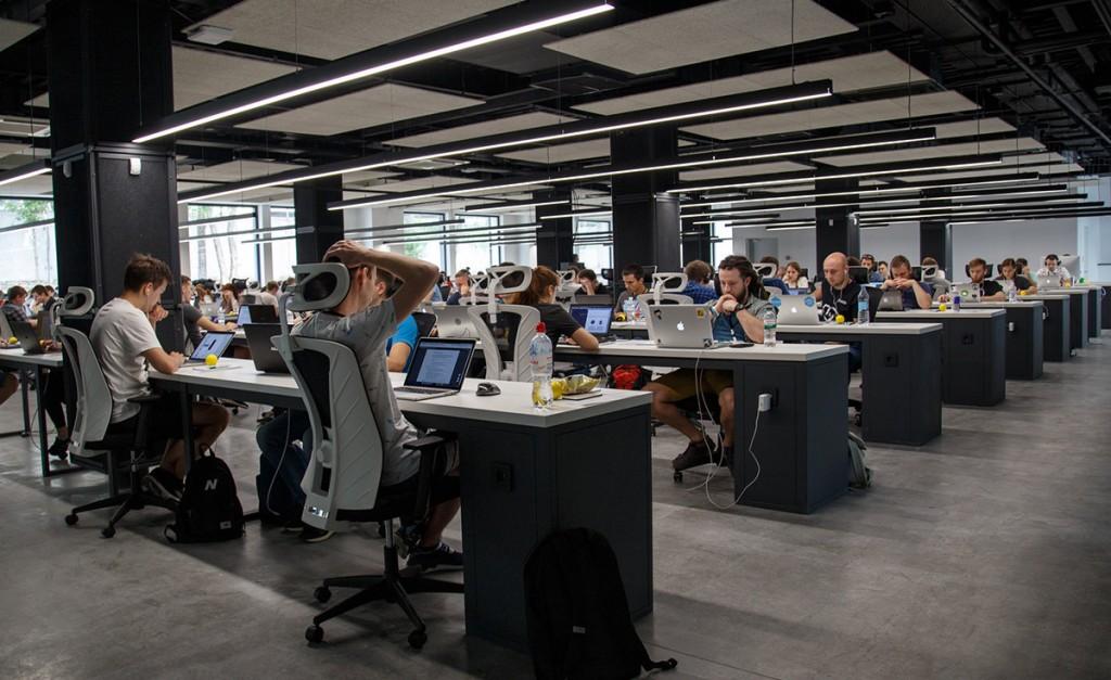 La gente cada vez se concentra menos en las oficinas