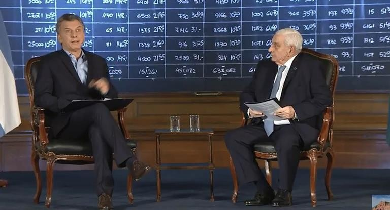 Macri:nos encontramos en una situación muy vulnerable
