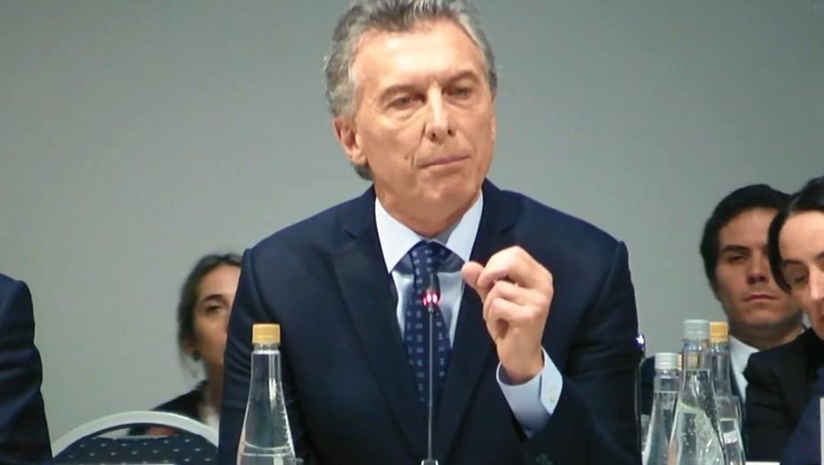 Macri agradeció el fuerte respaldo internacional