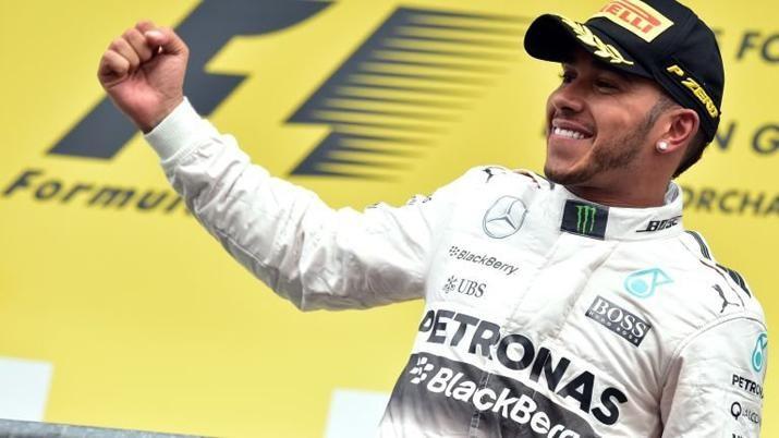 Lewis Hamilton ganó el Gran Premio de Alemania de Fórmula 1