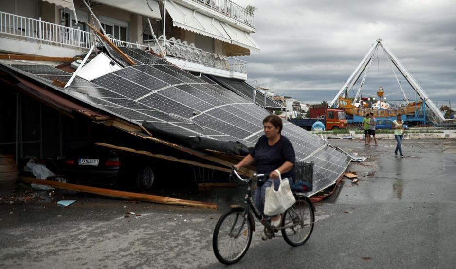 Tormenta de granizo deja seis muertos en Grecia