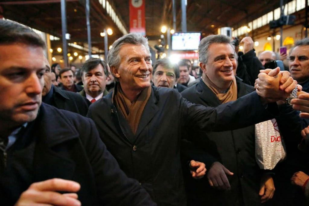 Mauricio Macri participa de la inauguración de la Rural