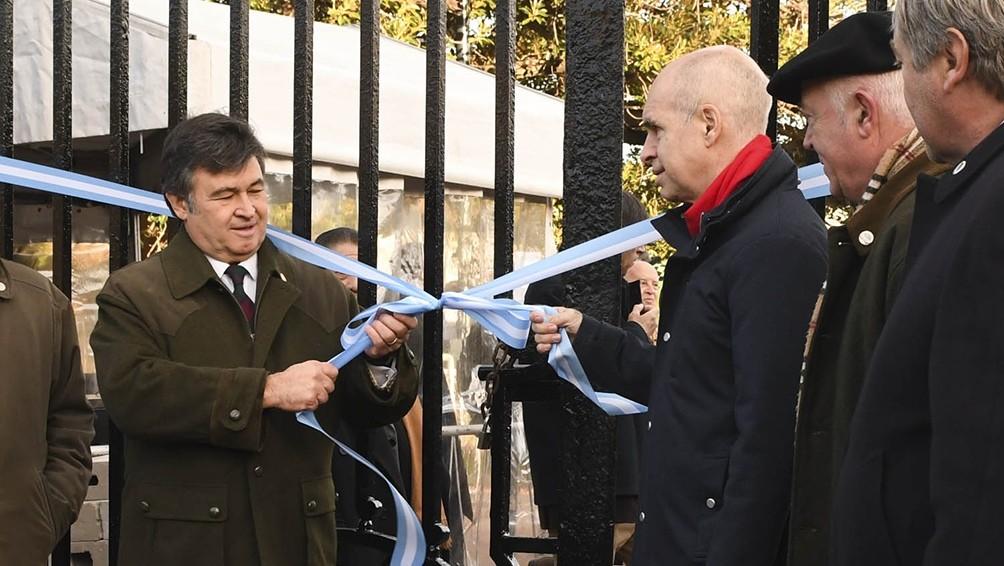 Etchevehere y Larreta abrieron la 133° Exposición Rural