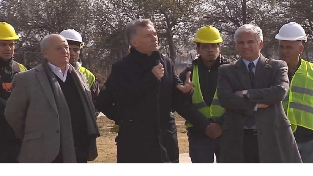 Macri en San Luis:Podemos trabajar juntos