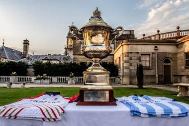 Inglaterra vs. Argentina en polo