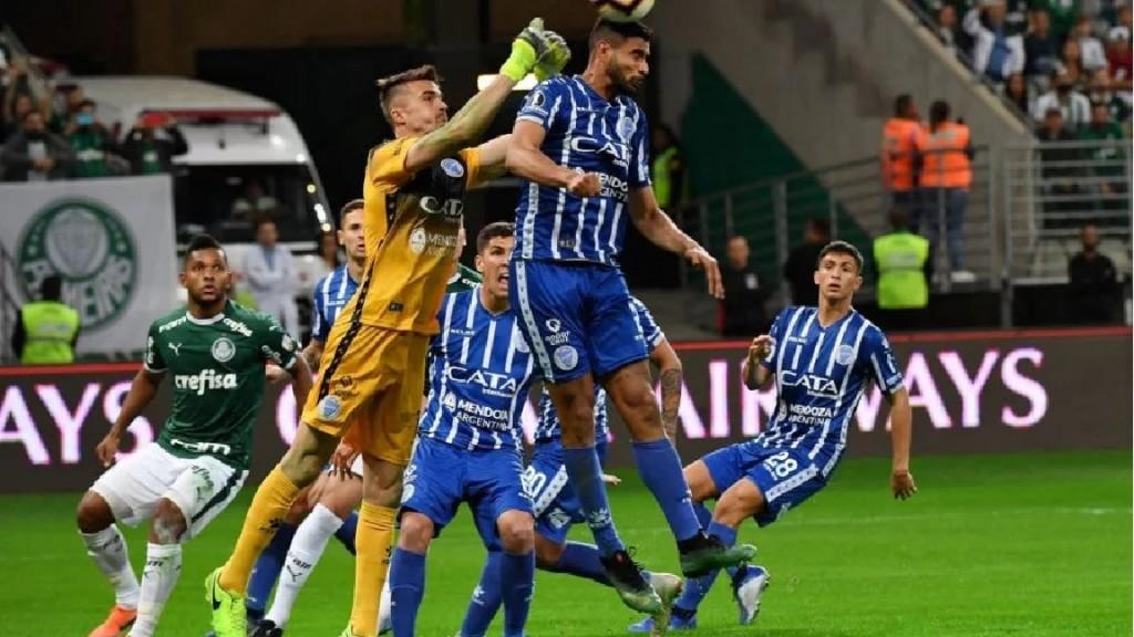 El Tomba eliminado de la copa por Palmeiras en Brasil