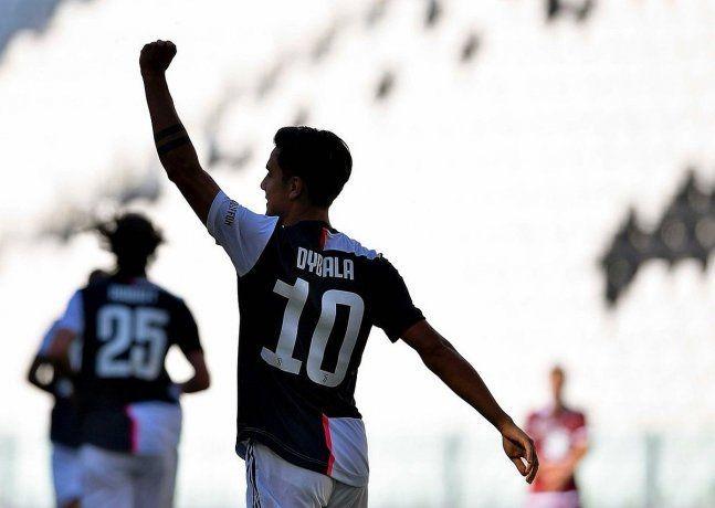 Juventus venció al Milán en el partido de la Liga de Italia