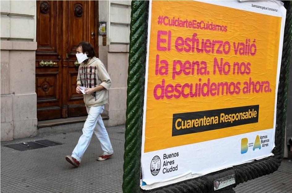 Argentina: confirmaron 3663 nuevos casos