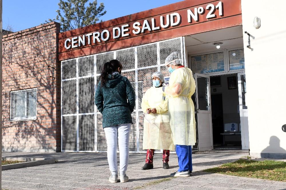 La Provincia realiza operativo sanitario en diversos barrios