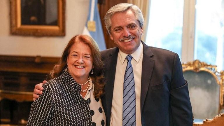 Alberto Fernandez busca reemplazo de Alicia Castro como embajadora en Rusia