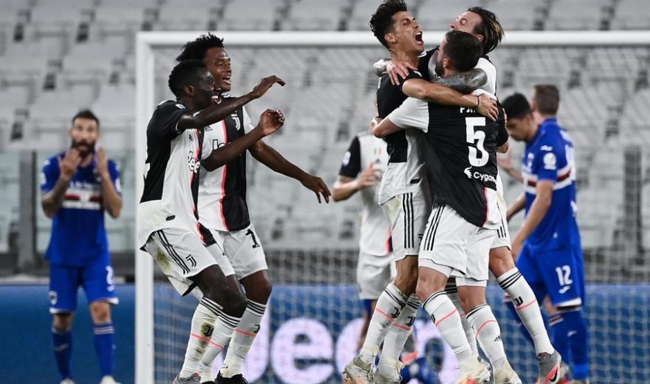Juventus se consagró campeón en Italia
