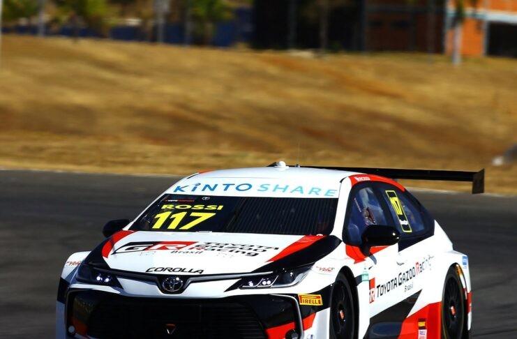 Matías Rossi tuvo un discreto debut en el Stock Car