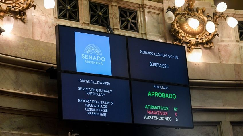 El Senado aprobó el proyecto de reestructuración de la deuda bajo legislación argentina