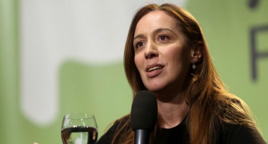 María Eugenia Vidal recibió el alta y se recentró con sus hijos
