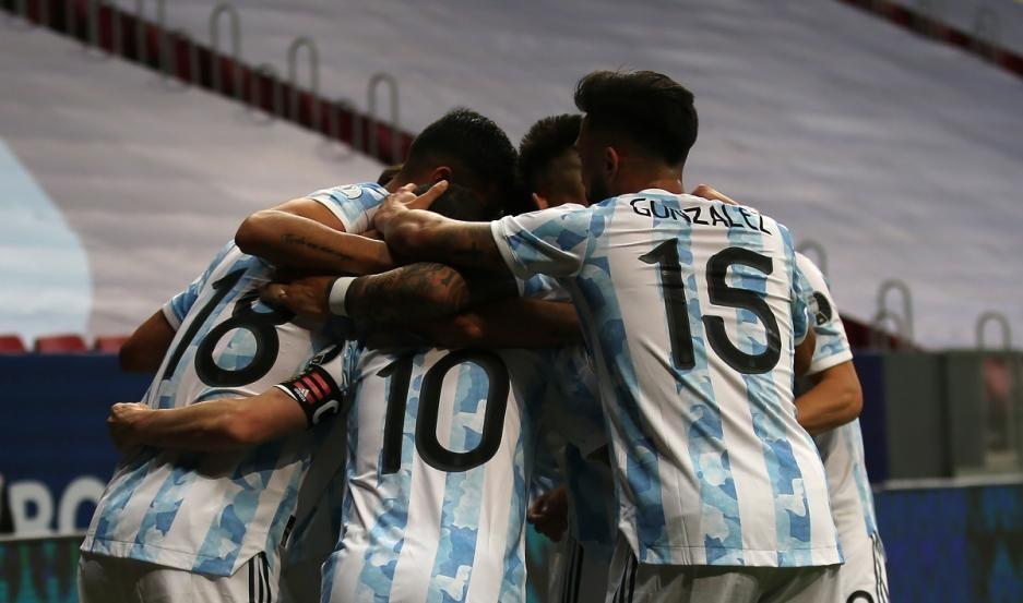 Argentina es semifinalista de la Copa América