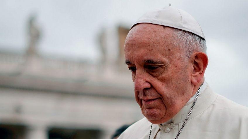El papa Francisco se recuera de la  operación