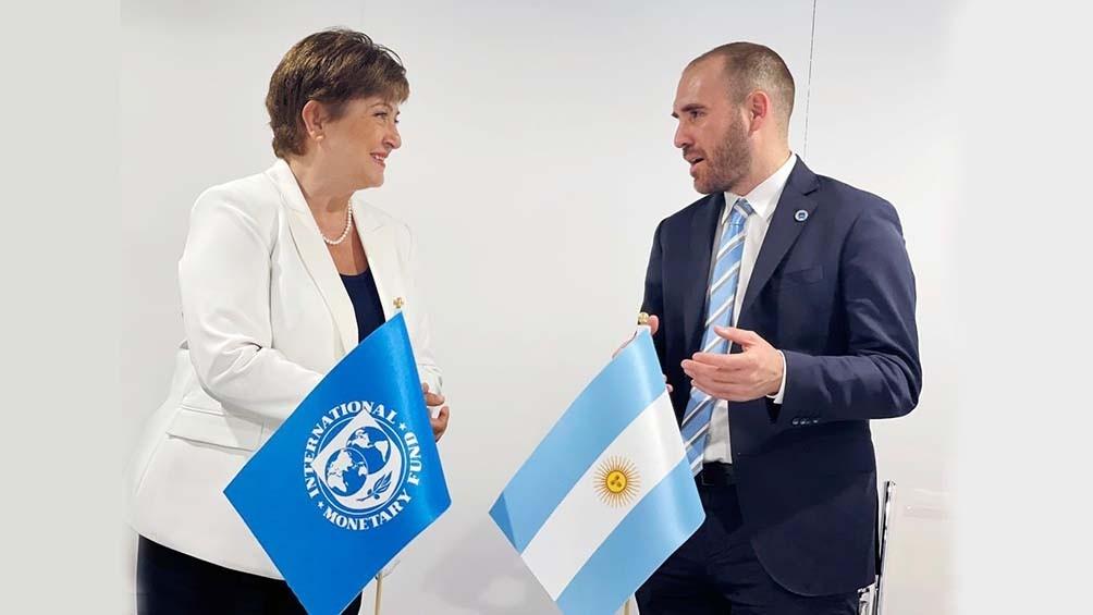 Guzmán y Georgieva analizaron la deuda insostenible con el FMI