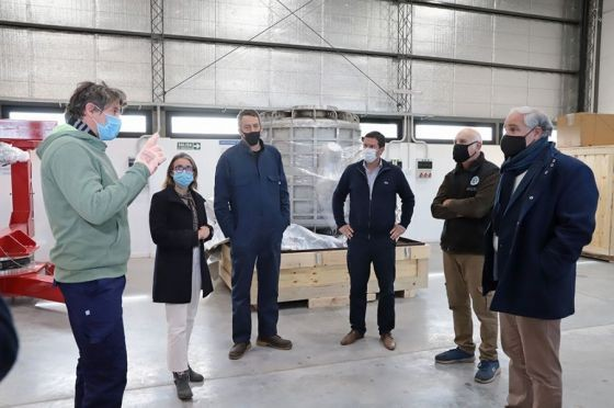 La Provincia recibió un telescopio de microondas