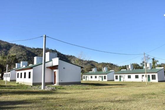 El Gobierno entregará 24 casas en Campo Quijano