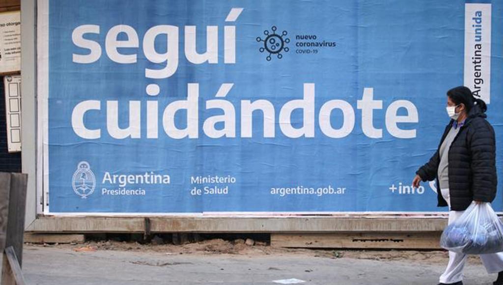 Argentina: Confirmaron 384 fallecimientos, y 12.555 contagios