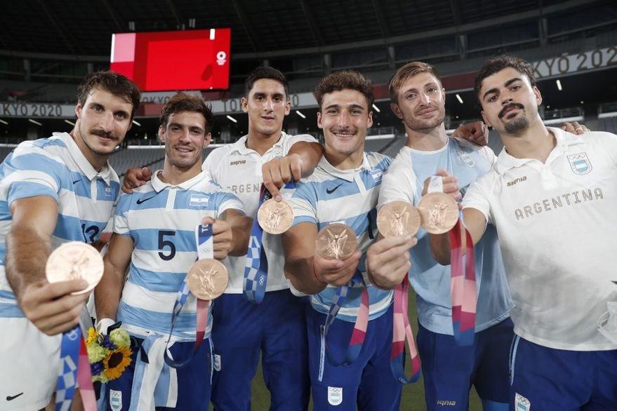 Los Pumas le dieron el Bronce a la Argentina en Tokio