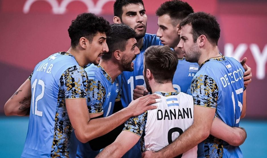El seleccionado argentino masculino de vóleibol le ganó a Túnez