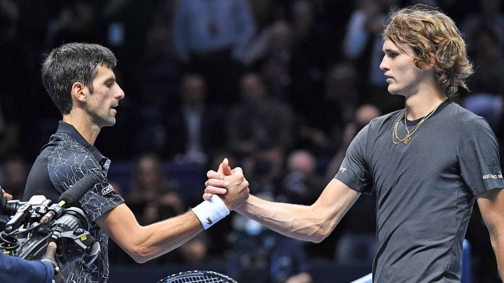 Novak Djokovic perdió ante Zverev en Tokio