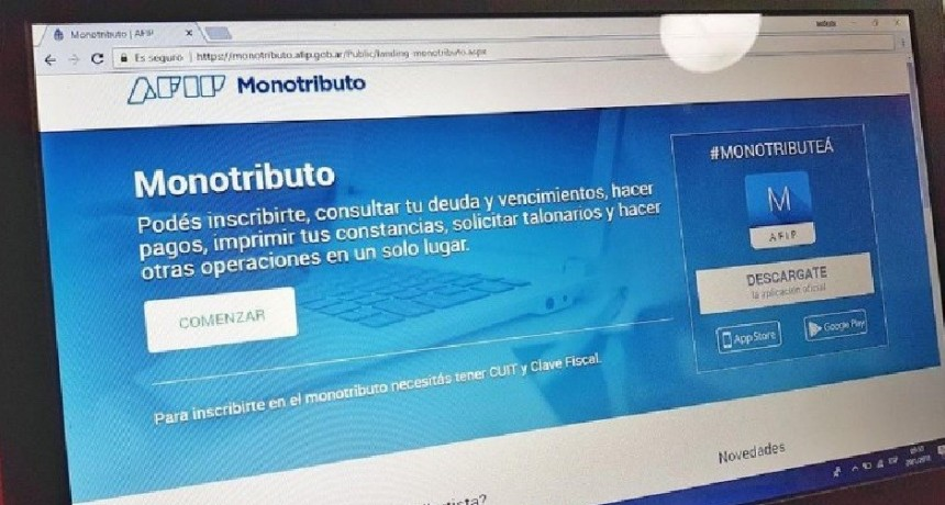 AFIP reglamentó Ley de Monotributo
