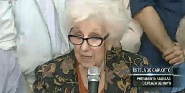 Abuelas de Plaza de Mayo encontró a la nieta N° 115