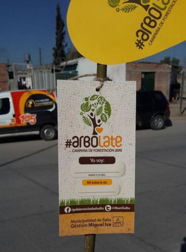 La Policía adoptará 25 árboles y se suma a la campaña #Arbolate