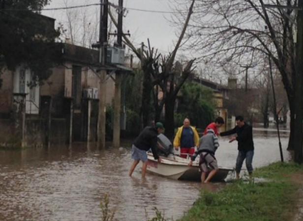 Emergencia hídirica en 40 municipios bonarenses