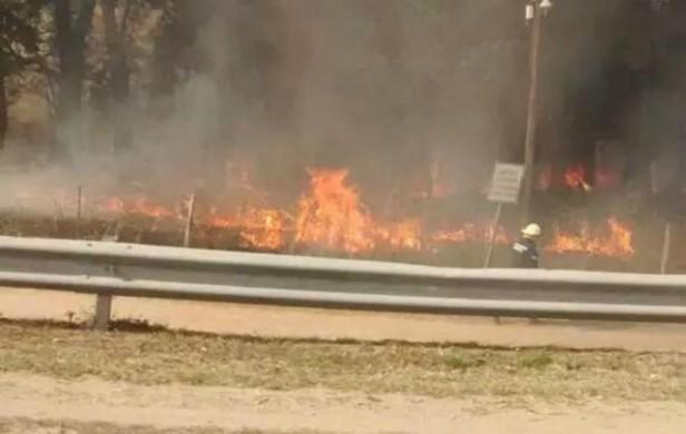 Córdoba: Incendios en distintos lugares de la provincia