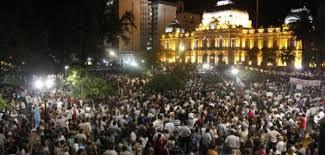 Tucumán:el pueblo volvió a protestar por las denuncias de fraude