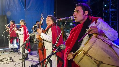 Velada folclórica en Parque Belgrano