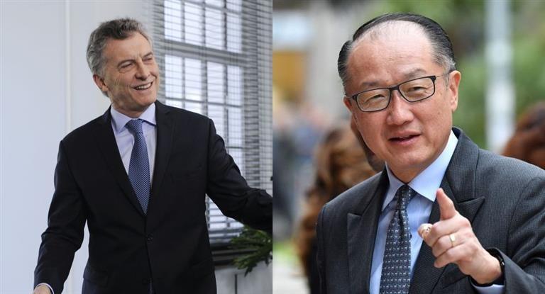 Macri recibe al titular del Banco Mundial en Olivos