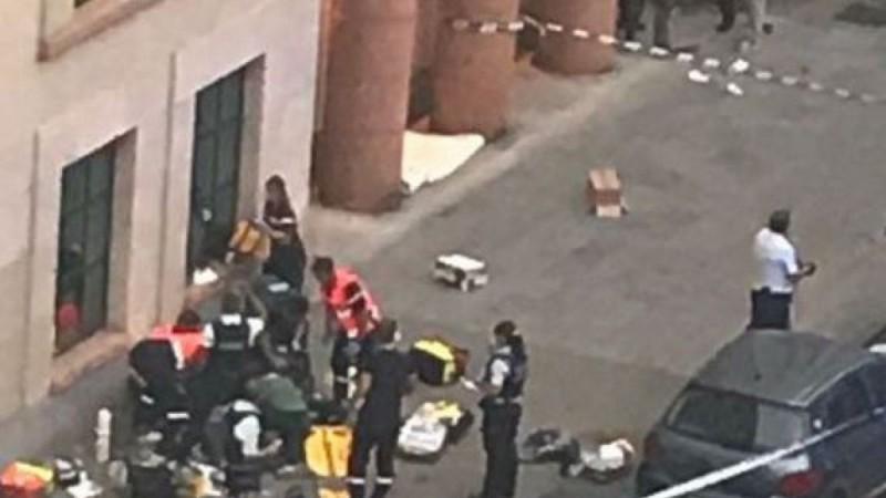 Atacante con riesgo vital tras acuchillar a dos militares en Bélgica