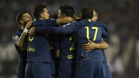 Boca Juniors goleó a Alvarado de Mar del Plata