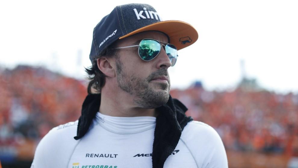 Alonso anuncia que no correrá en Fórmula 1 en 2019